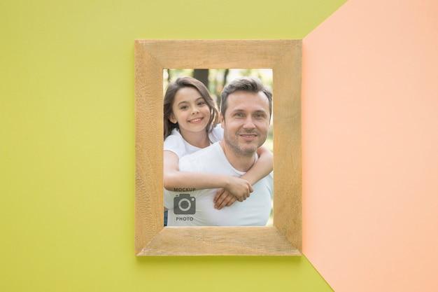 Lay flat de marco para fotografías