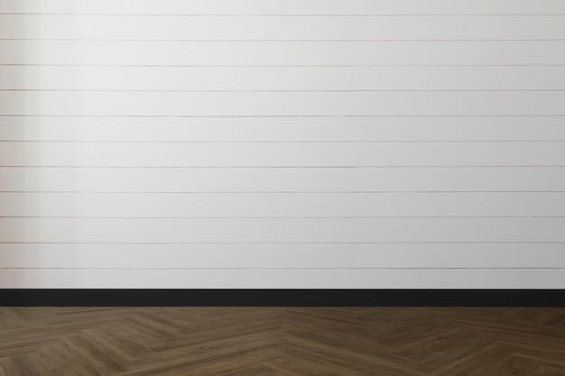 Lege kamer muur mockup psd minimaal interieur