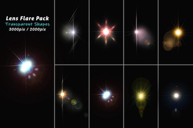 Lens flare light-pakket