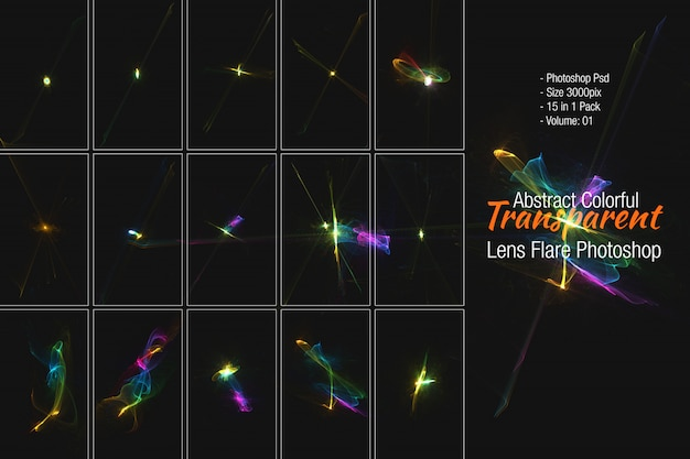 Lens flares & sterren-sortering
