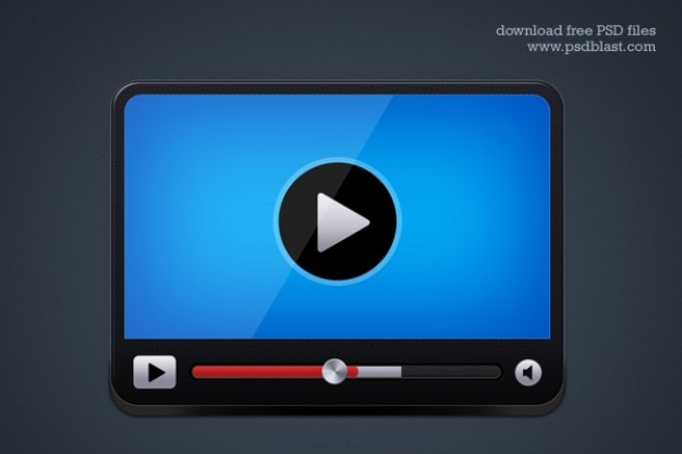 Lettore video icona
