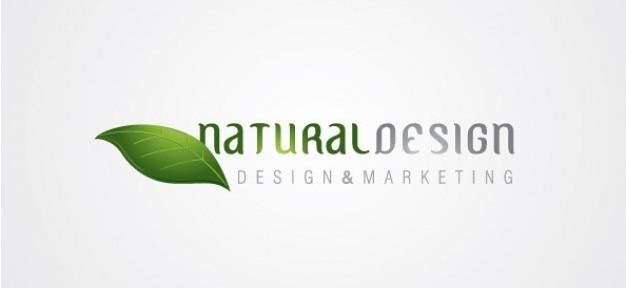 Libero logo eco concetto di design