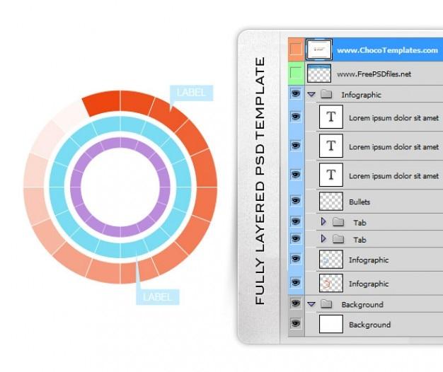 Libres infográficas psd plantillas psd files