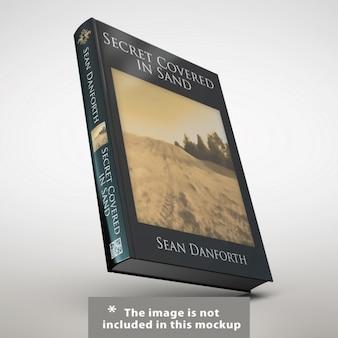 Libro realistico presentazione copertina