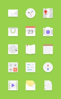 Licht android icon set