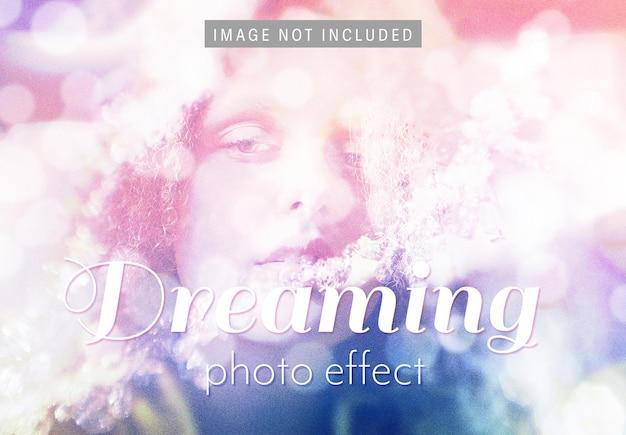 Licht bokeh-beeldeffect