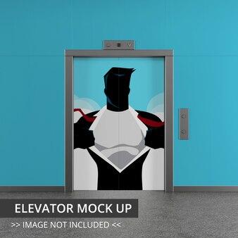 Liftmodel, gesloten deur
