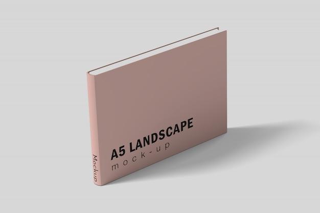 Liggend landschapsboek