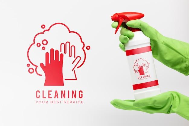 Limpieza de su mejor maqueta de servicio