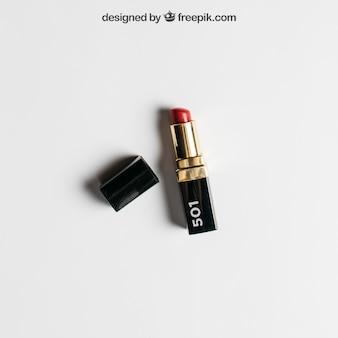 Lippenstiftmodel