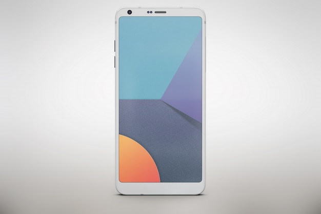 Lo smartphone bianco si imita