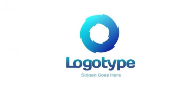 Logo design libero a zig zag