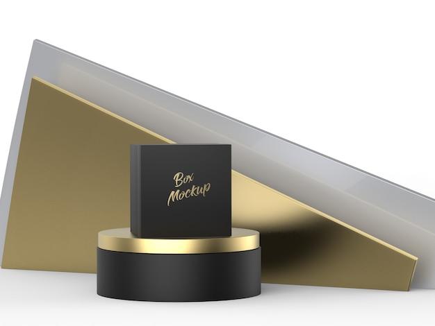 Logo mockup luxe doos