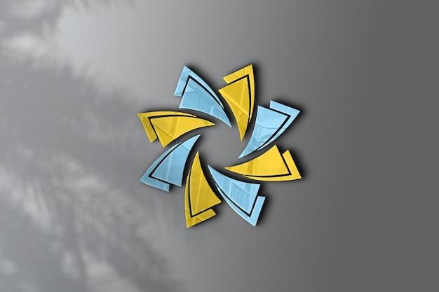 Logo mockup-ontwerp voor het bedrijfsleven
