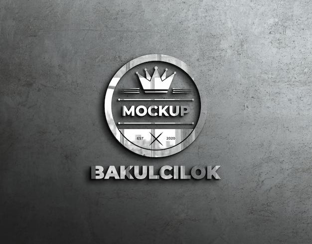 Logo mockup riflesso