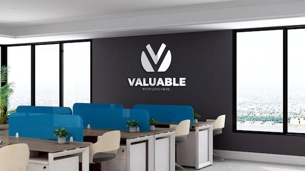 Logomodel op de kantoorwerkplek