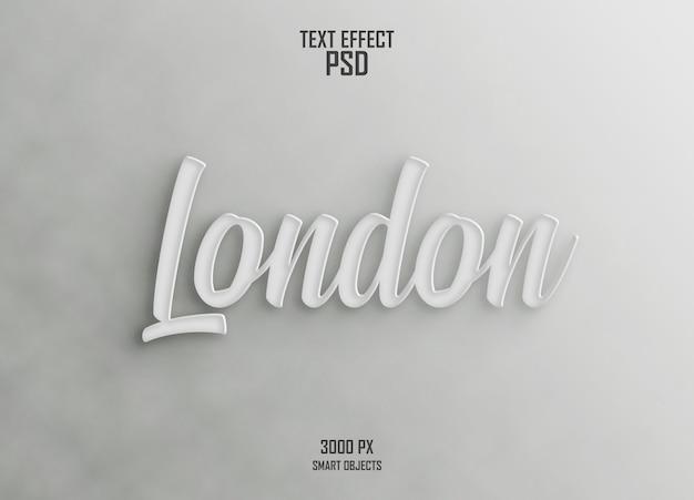 Londen teksteffect