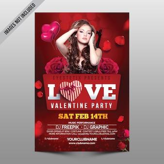 Love valentine-feest