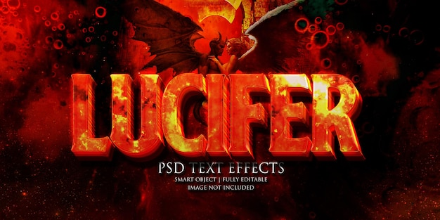 Lucifer tekst effect