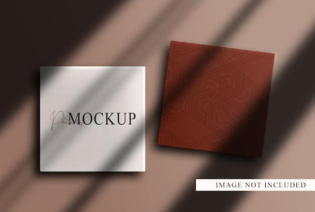 Luxe blanco close-up dozen mockup