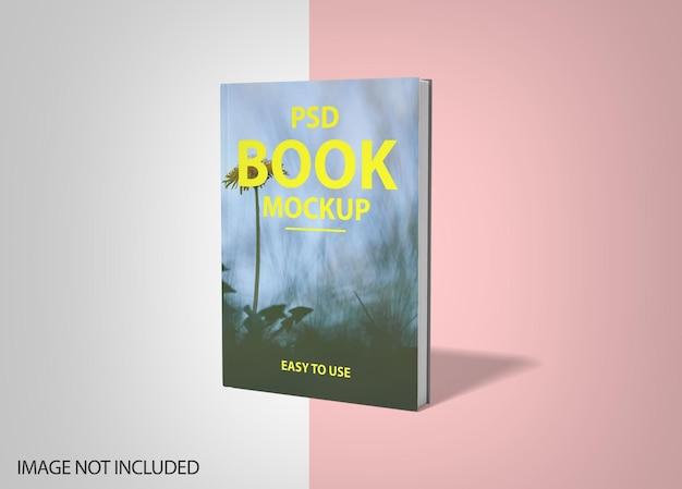 Luxe boek mockup met harde kaft