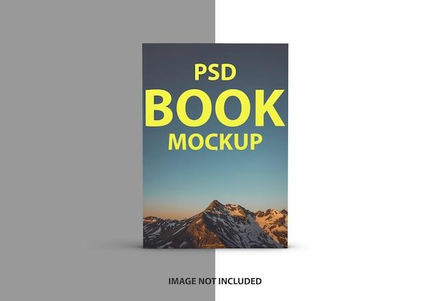 Luxe boekomslag mockup ontwerp geïsoleerd