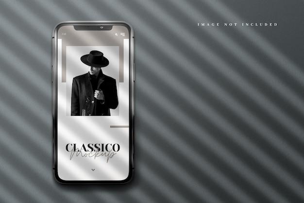 Luxe realistisch telefoonmodel