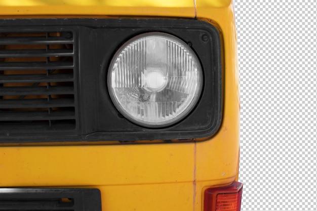 Luz del coche de la vendimia