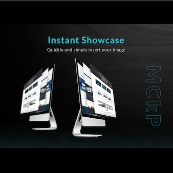 Mac mock up showcase