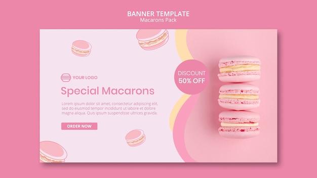 Macarons pack met korting