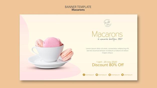 Macarons verkoop met korting