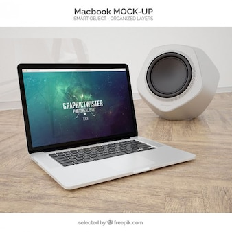 Macbook maqueta
