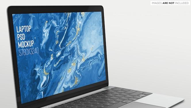 Macbook Pro Psd Mockup Cerrar Vista