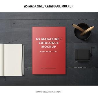 Magazine catalogus mockup