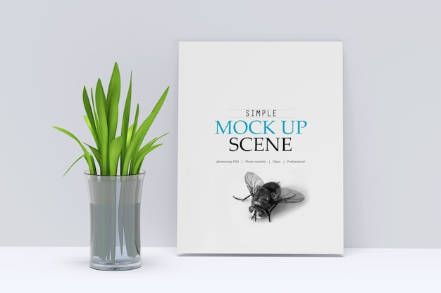 Magazine mock-up