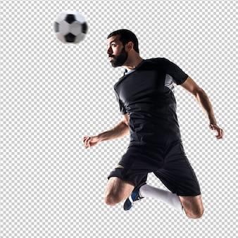 Man voetballen