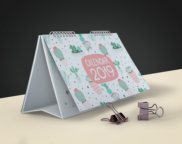 Manichino del calendario disegnato a mano