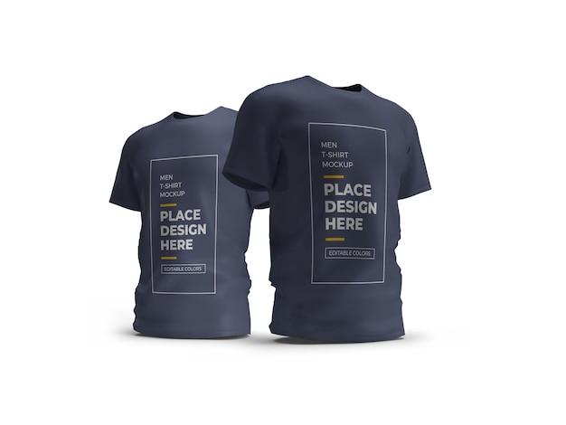 Mannelijk t-shirt mockup