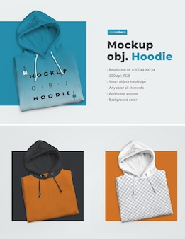 Mannen mockup hoodie