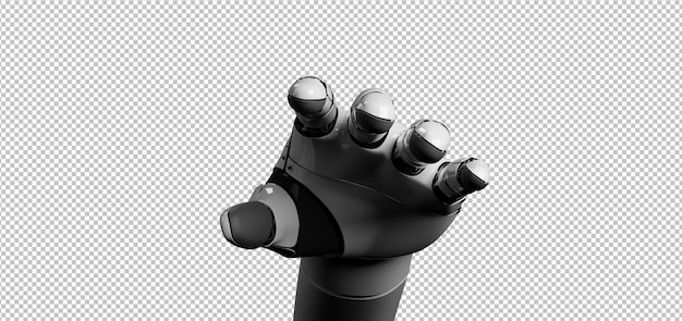 Mano di cyborg robot