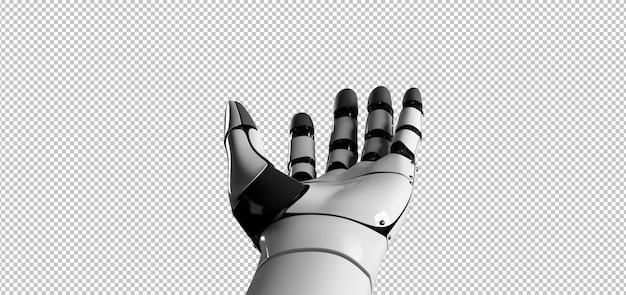 Mano robot cyborg
