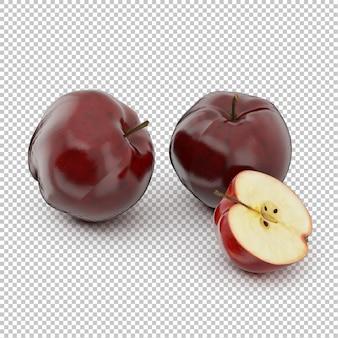 Manzanas isométricas