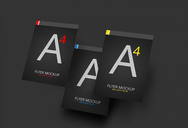 Maqueta a4 flyer