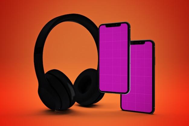 Maqueta de la aplicación de música