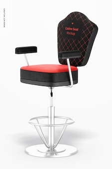 Maqueta de asiento de casino