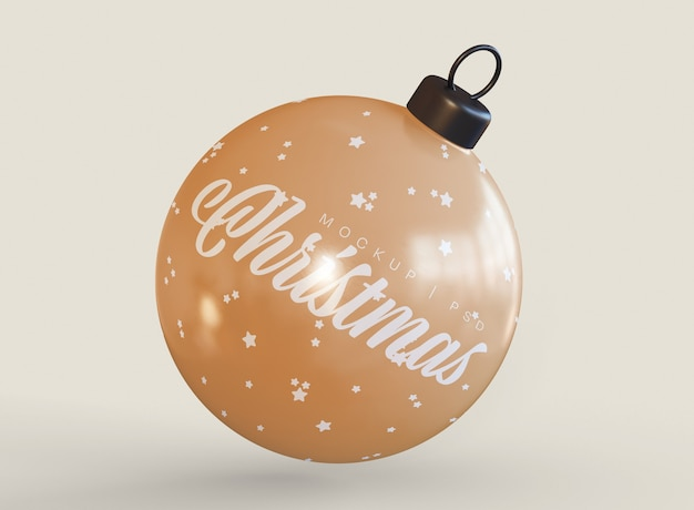 Maqueta de bola de navidad