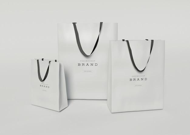 Maqueta de bolsas