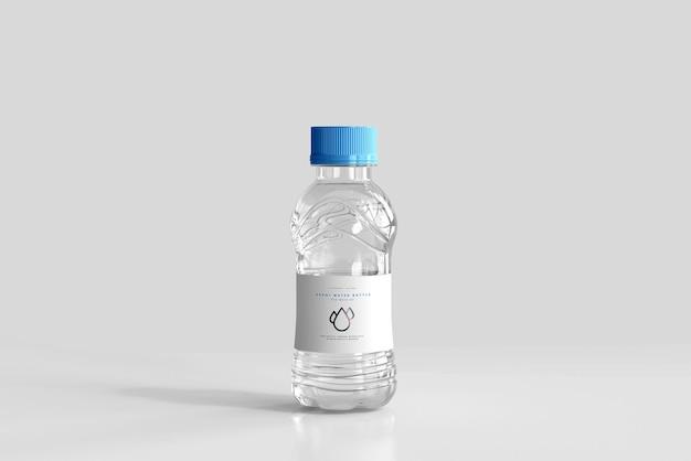 Maqueta de botella de agua dulce