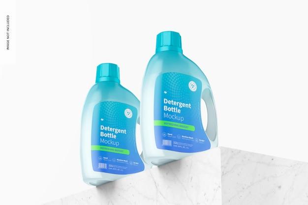 Maqueta de botella de detergente de 69 oz