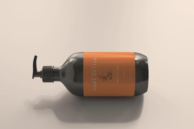 Maqueta de botella grande con bomba